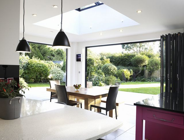 Orangery Kitchen Extension | The two six-leaf sets of foldin… | Flickr