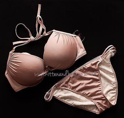 Bnwt #victoria's secret #36d/80d swim bikini push up bra & l #bottoms holiday bea,  View more on the LINK: http://www.zeppy.io/product/gb/2/252639052309/