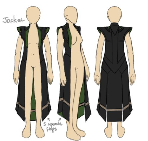 e-hyde:  hey-lowkey:  Avengers Loki's jacket.  Something to note that I see some cosplayers missing is that the jacket is not completely sy...