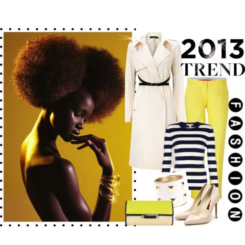 In the mood for... yellow!   FashionWows - Part 1