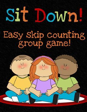 """""""Sit Down!"""" is another all purpose game. Kids stand in a big circle. One student is """"it"""" in the middle with a pointer (or just his finger). """"It"""" gets to decide what number we start counting on t..."""