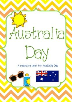 Australia Day Resources..complete with ACARA outcomes. Great Resource!