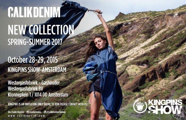 Calik Denim SS2017 Denim collection