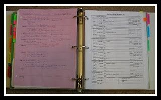 good tips for genealogy stuff. Shares what she takes w/her in a binder when doing family history research