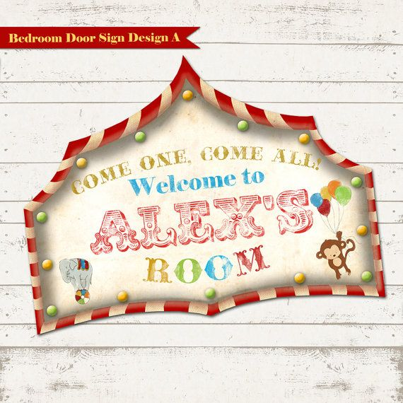 Circus   Children s Decor   Vintage Circus Sign   Carnival   Bedroom   Playroom Decor. Best 25  Childrens circus bedrooms ideas on Pinterest   Children