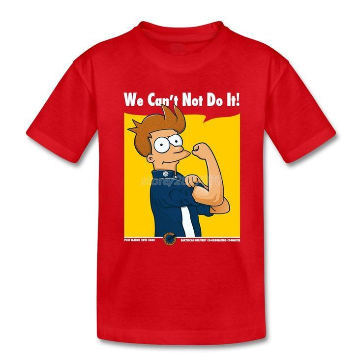 Printing Futurama T Shirt Fry Boys Shirts Meninos roupas Camisa //Price: $18.24 & FREE Shipping //     #hashtag3