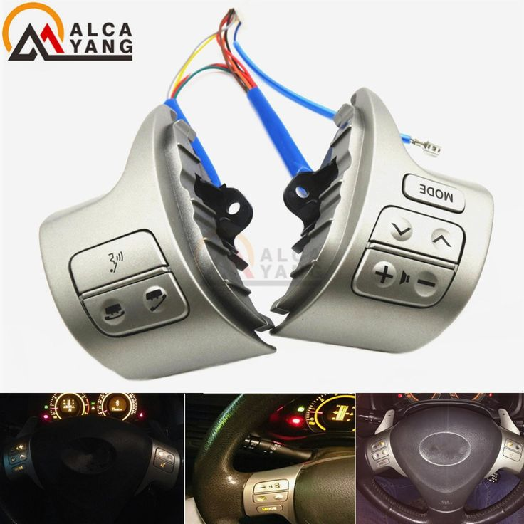 Buy online US $14.32  Bluetooth Steering Wheel Audio Control Switch 84250-02200 For Toyota Corolla ZRE15 2007 ~2010  #Bluetooth #Steering #Wheel #Audio #Control #Switch #Toyota #Corolla  #Online