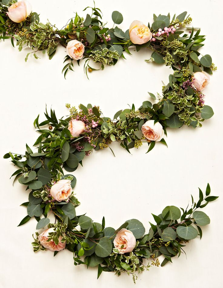 DIY Wedding Floral Garland: Step 4