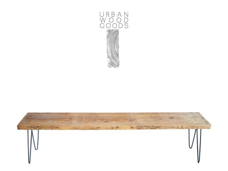 Urban Wood Goods :: Reclaimed Wood Bench New York