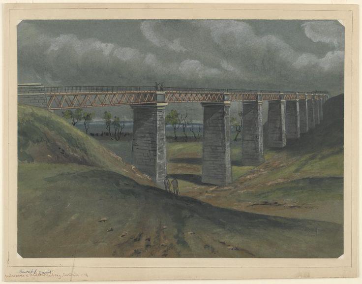Moorabool Viaduct, Melbourne to Ballarat Railway 1859