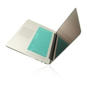"""TopCase® Solid TIFFANY BLUE Keyboard Silicone Cover Skin for Macbook 13"""" Unibody / Macbook Pro 13"""" 15"""" 17"""" with or without Retina Display + TOPCASE® Logo Mouse Pad:Amazon:Computers & Accessories"""