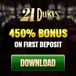 21Dukes Casino Weekend Bonus + an entry ticket to a $50K Table Games Tournament