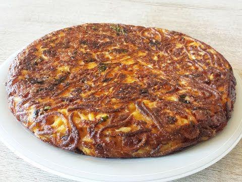 (1) Spaghetti frittata - Italian recipe - YouTube
