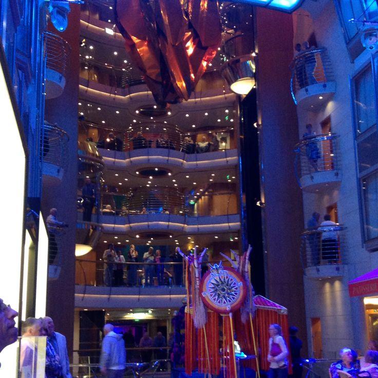 Atrium Explorer of the Seas April 2015