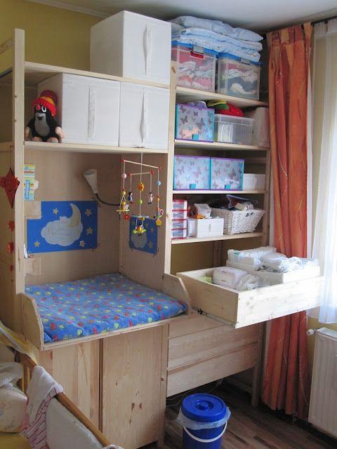ikea ivar baby station