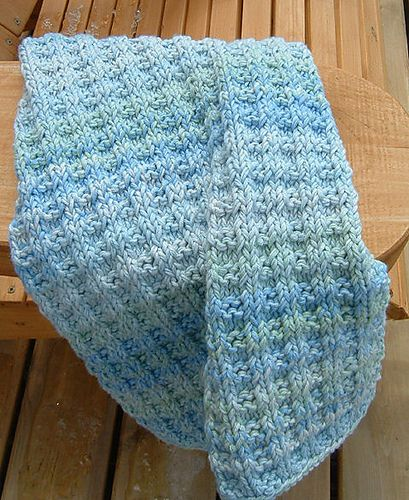 rib hand towel knitting pattern with cotton yarn more crochet hand ...