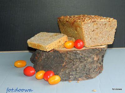 Moje Małe Czarowanie: Orkiszowy chleb na pszennym zakwasie z prażoną ceb...