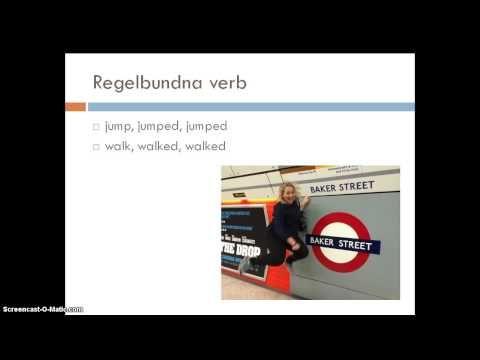 Film Tema på verb, både regelbundna och oregelbundna