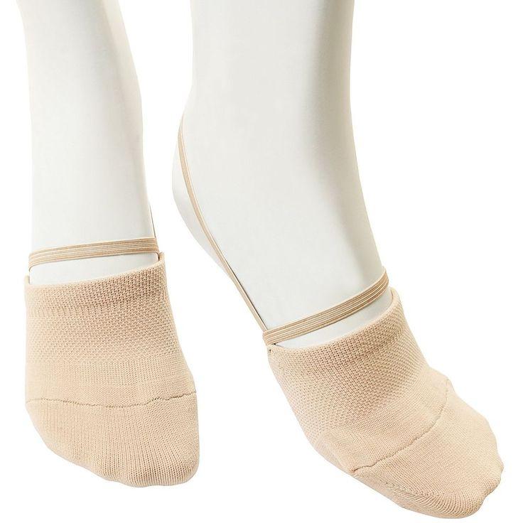 VEVA Knitted Dance Gymnastics Half Socks Sole Shoes for Girls and Women Beige  | eBay