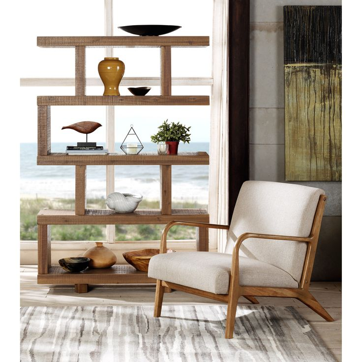 Upgrade Your Home Decor With This Ink And Ivy Novak Lounge Chair.  Constructed Of A