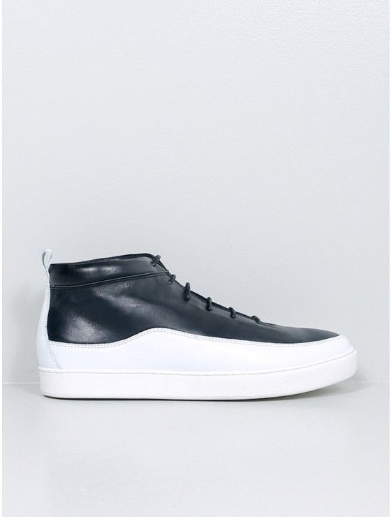 Public School leather sneaker