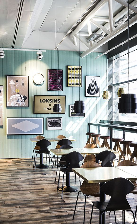 The era of glamorous travel may be long gone, but a successful attempt to reignite its erstwhile charm can be found at Loksins, a bar located in Iceland's Keflavík International Airport. Conceived by Reykjavik-based HAF Studio, the space evokes an a...