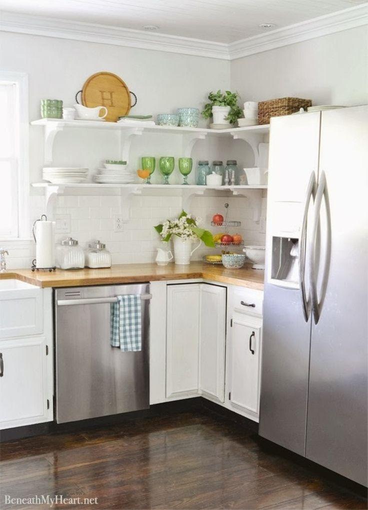 1000 ideas about Open Shelf Kitchen on Pinterest