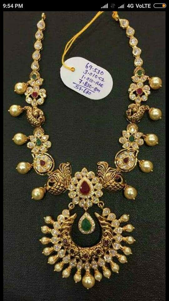 dfbcaa9079136 Pin by Deepa Shetty on Pendants in 2019 | Jewelry, Gold jewelry ...