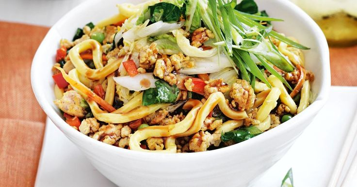 For a speedy weeknight meal, try this quick chicken chow mein.