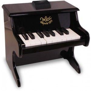 Sort, lille klaver fra Vilac