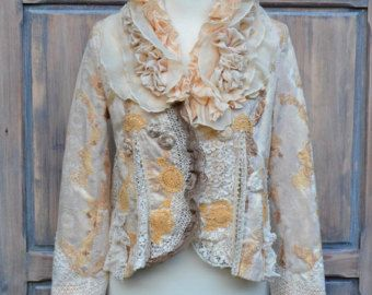 Invierno boudoir cardi-Bohemia romántica alterada por FleursBoheme
