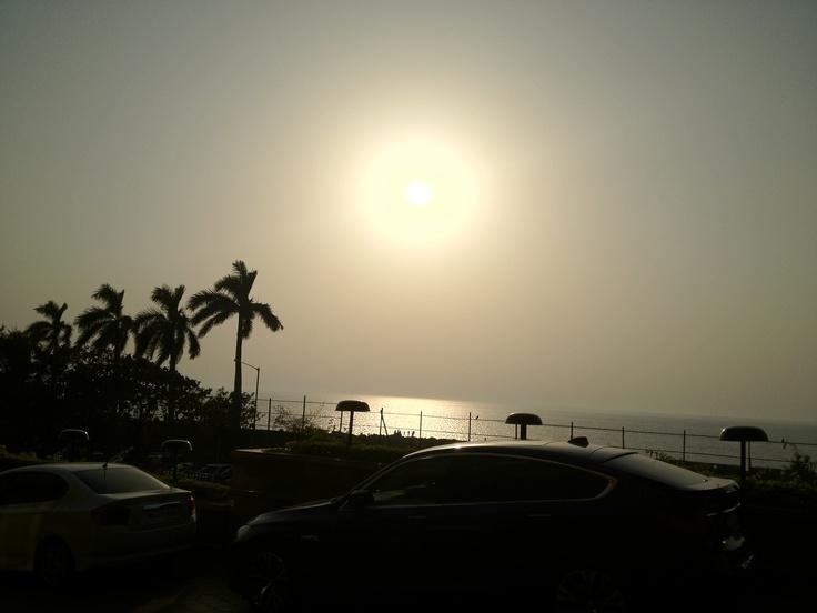 View outside Taj Lands End, Bandra, Mumbai