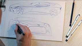 """Screenshots from the movie """"Part 1: Coloured pencil. Ideation."""""""