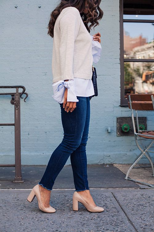 Here is the must-try denim this season, it's the perfect staple for your fall wardrobe and looks great on every body! Highly recommend to try this season.