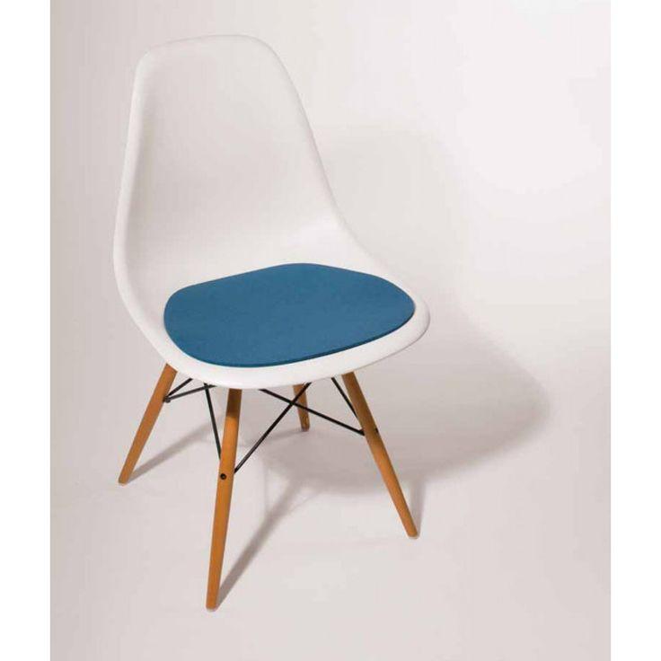 Seat cushion - felt cushion Eames Side Chairs DSR,DSW Parkhaus Berlin for…