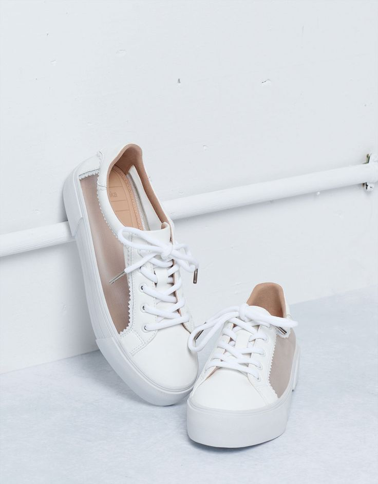 Bershka mesh sneakers