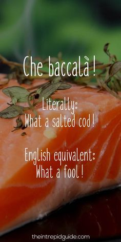 Italian Sayings: 26 Food-Related Insults & Why You Won't Forget Them