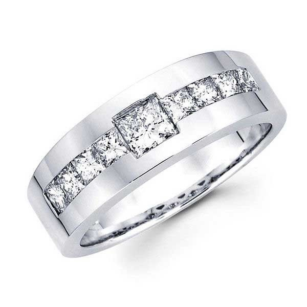 60 breathtaking marvelous diamond wedding bands for him her - Wedding Rings For Him