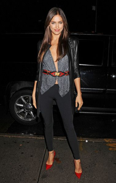 "Irina Shayk - Irina Shayk Arrives at the ""Dirty Girl"" Screening in NYC"