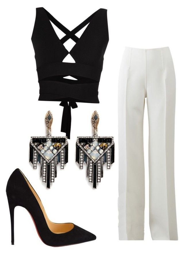 """Untitled #10"" by britfashionista on Polyvore featuring Proenza Schouler, Michael Kors, Christian Louboutin, Lulu Frost, women's clothing, women's fashion, women, female, woman and misses"