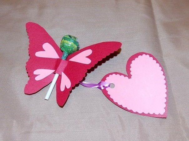 Creative Ideas - DIY Pretty Kirigami Butterfly Postcard from Template 2