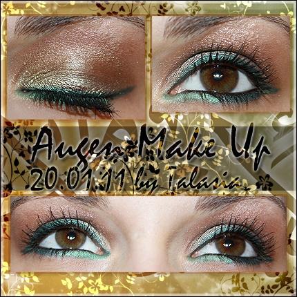 Eye Make Up - Datum: 20.01.11  http://talasia.blogspot.de/2011/01/amu-agnes-b-monobulle-eyeshadow-proben.html