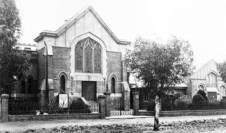 Warracknabeal Methodist Church, c1935.
