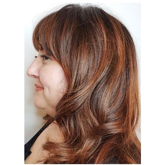 Cut, color & style by Kara . For appointments, call/text Artisan Salon & Spa 760…