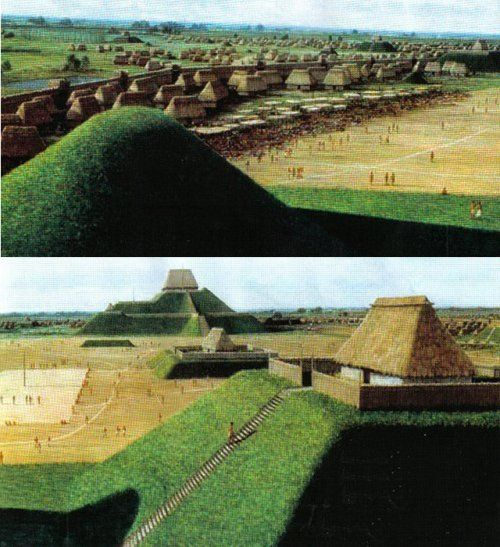 a history and mystery of cahokia an ancient capital of an indian nation The cahokia mounds state historic site /kəˈhoʊkiə/ (11 ms 2) is the site of a pre -columbian  for the former native american tribe unrelated to the builders of the cahokia mounds,  cahokia mounds is a national historic landmark and a designated site for state protection  the proud history of architecture in illinois .