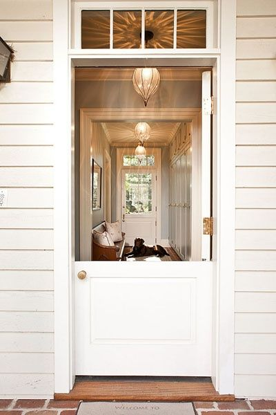 88 best dutch door ideas images on pinterest dutch doors for Half door ideas