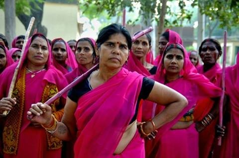 India's Gulabi Gang, who arm themselves with sticks and take on corrupt officials, the police, husbands who abuse women, among others. They'll try reasoning at first, but if you don't listen, they will eventually beat the shit out of you. We will not wait for justice in this world. We will not wait for someone to bring it to us. We will make this world a just place through our own doing. https://www.youtube.com/watch?v=EXwH-kjSUSs