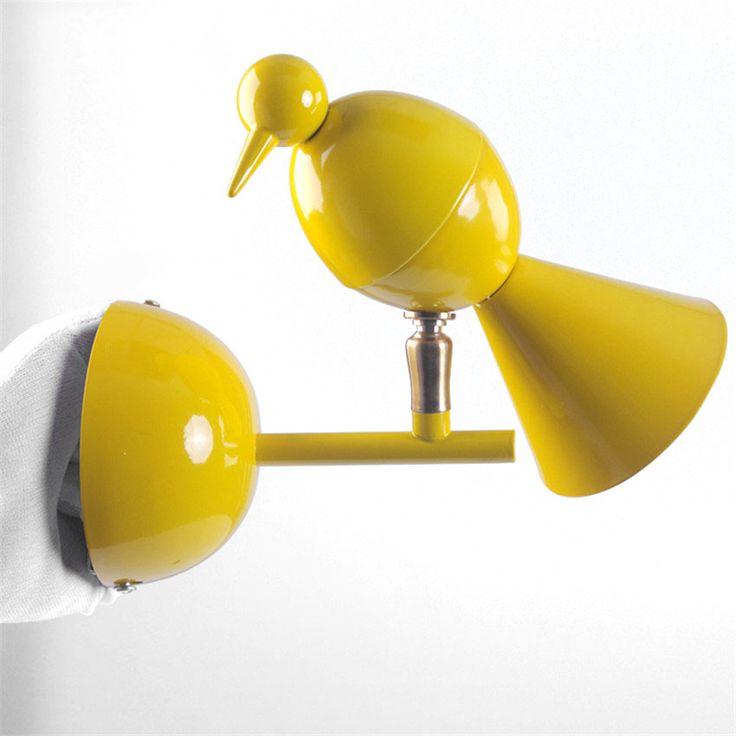 Современная подсветка лестницы подсветка картин ресторан-бра на стену, Цвет птица Сороканастенные светильник в ванную магазин бар Светильник настенный  споты настенные подсветка зеркала