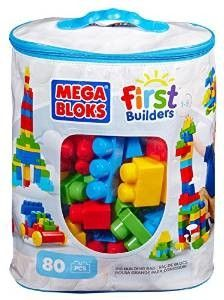 Lego blocks: Mega Bloks First Builders Big Building Bag, 80-Piece As a teacher, I know how educational and fun these toys are. they help children to recognize the primary colors, building different objects, spacial planning and counting to name a few uses.  http://awsomegadgetsandtoysforgirlsandboys.com/creative-easter-basket-ideas/ Lego blocks: Mega Bloks First Builders Big Building Bag, 80-Piece
