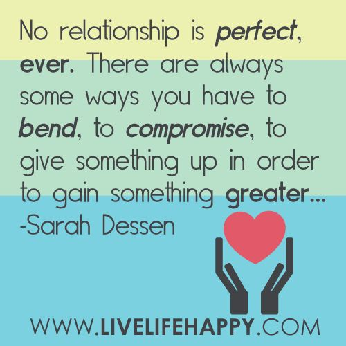 No Perfect Relationship Quotes